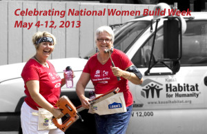 National Women Build Week