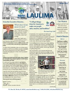 2013-11 Newsletter -Winter 2013