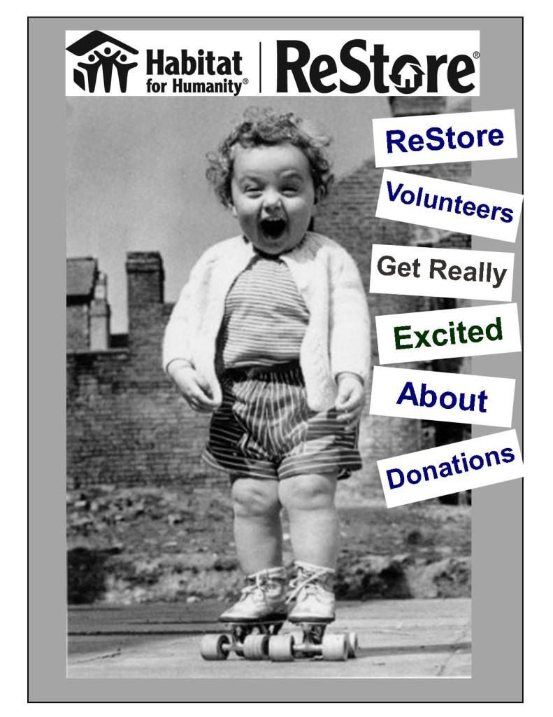 ReStore Volunteers Get Really Excited (2)