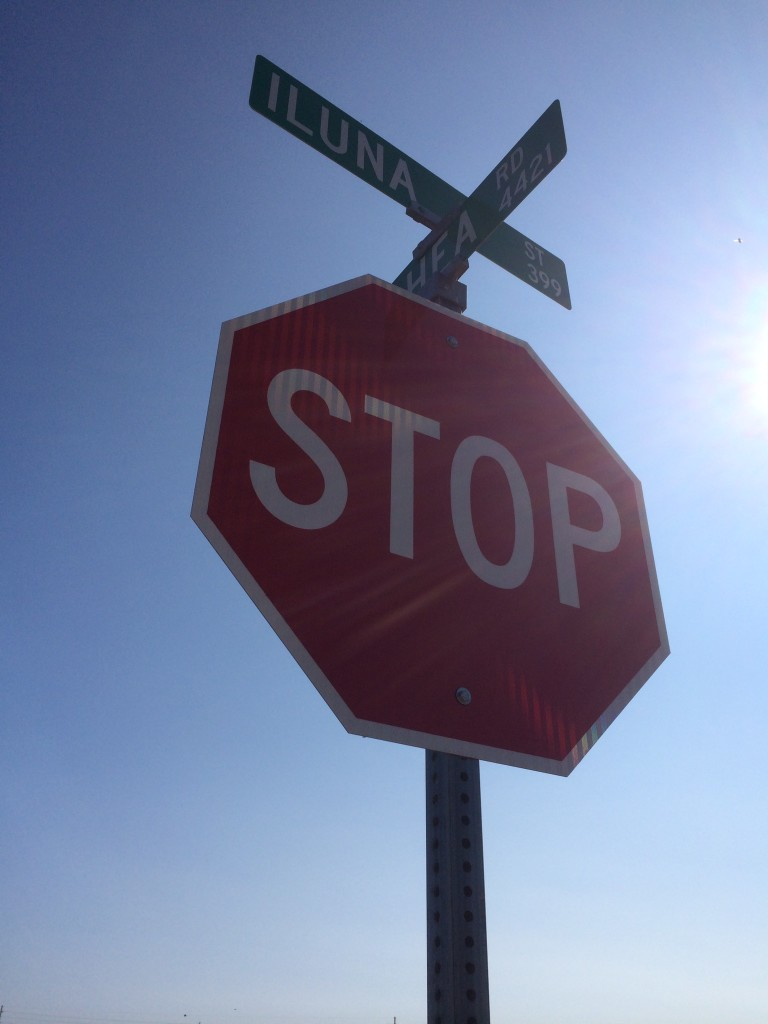 Iluna Street sign (2)