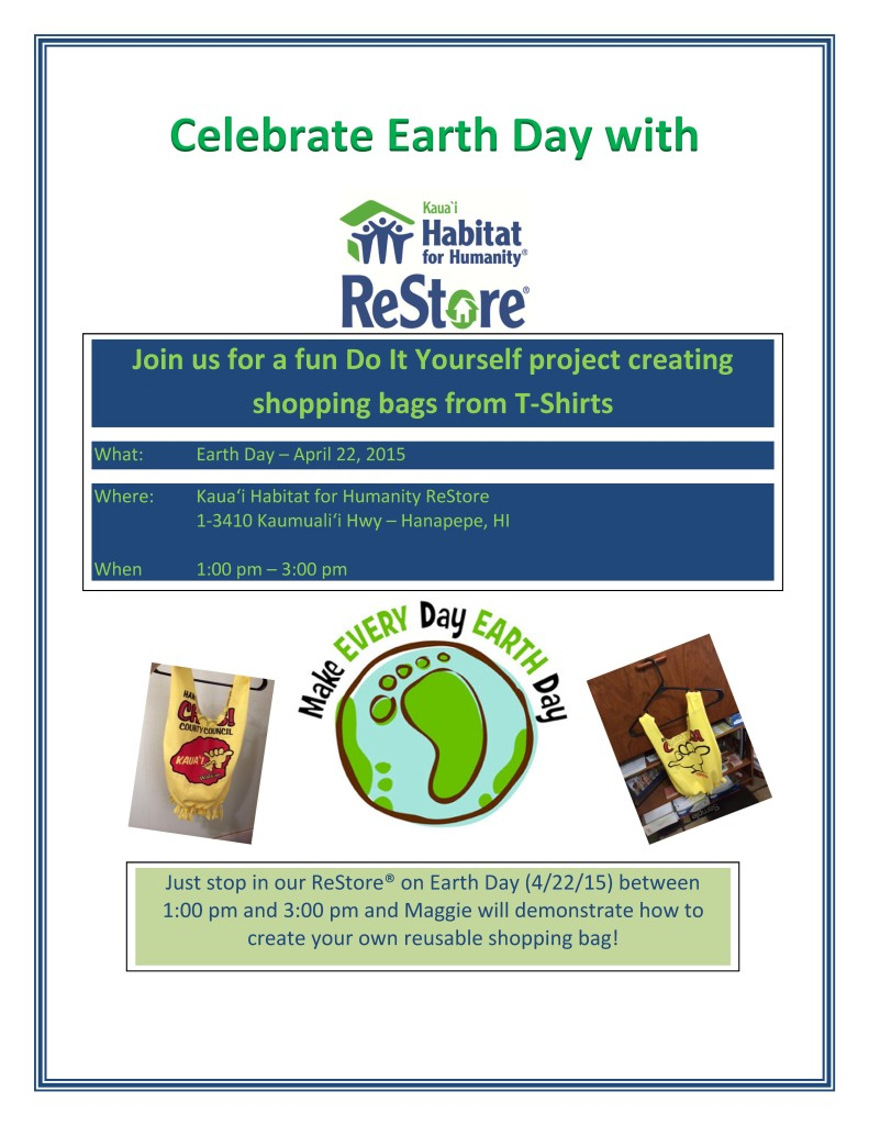 Celebrate Earth Day Flyer
