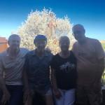Stephen Spears, Loren Johnson, Sandy Ambrose and Guy Ambrose