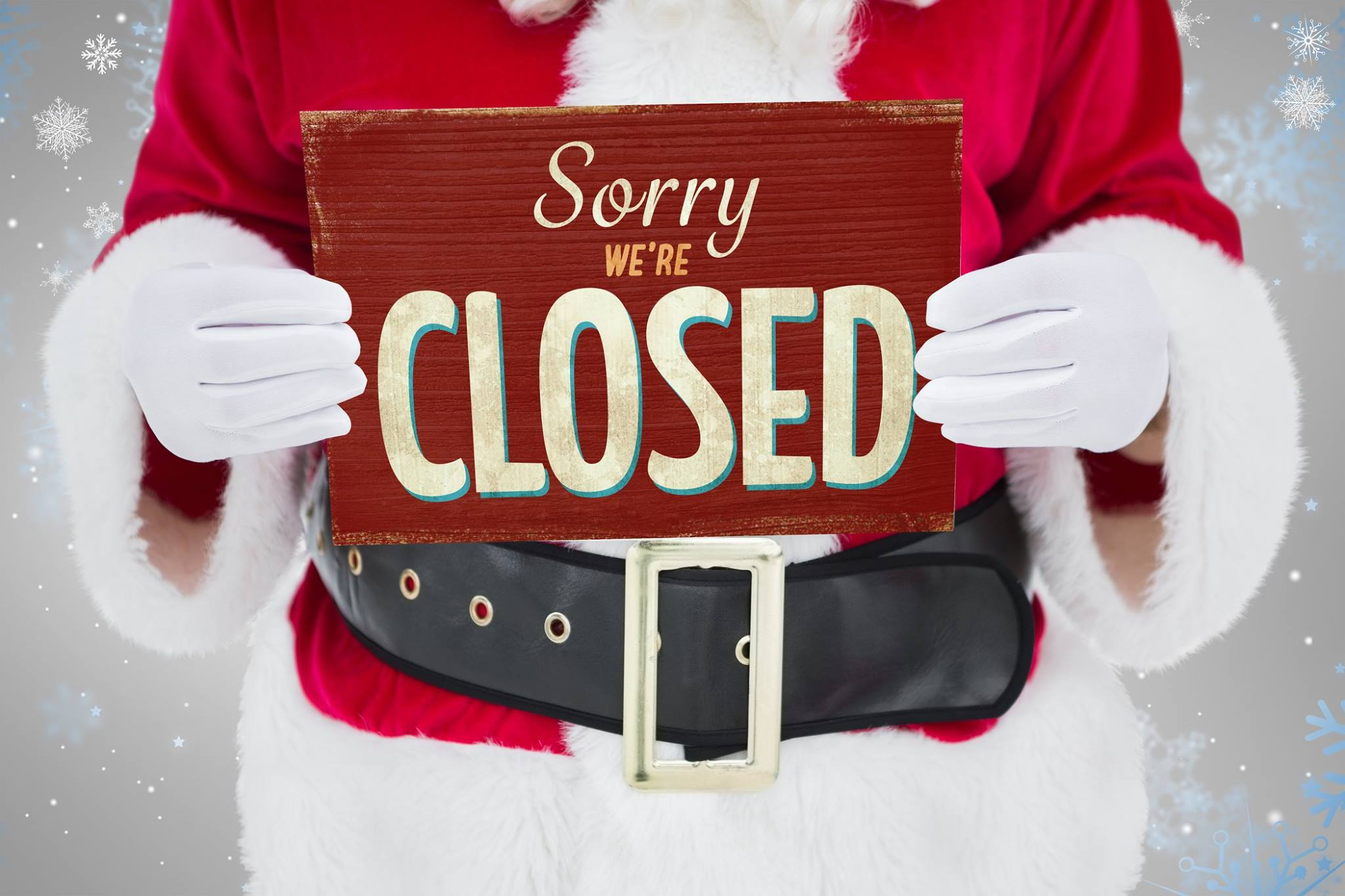 Closed For Christmas 2020 Office Signs Closed Christmas and New Years Day | Kauai Habitat for Humanity